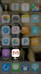 Year In Review: 2015 - Gmail app in phone screen
